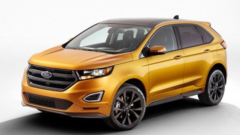 Ford renovó por completo la Edge para el modelo 2015.