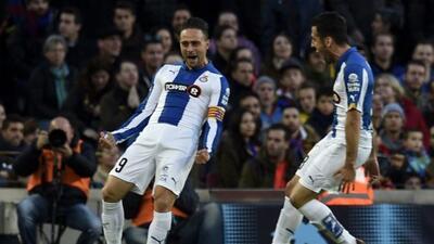 El defensa mexicano Héctor Moreno disputó los 90 minutos con los Periqui...