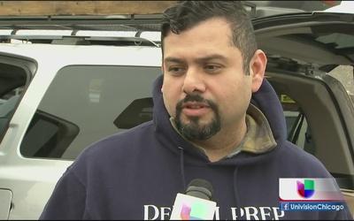 Residentes se alistan para la primera tormenta invernal