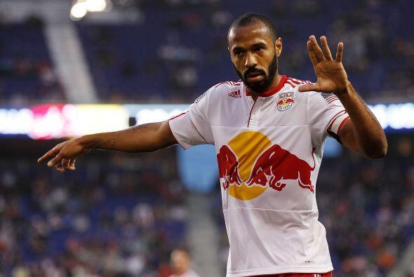 Thierry Henry está pasando por un buen momento futbolístico y disfruta d...