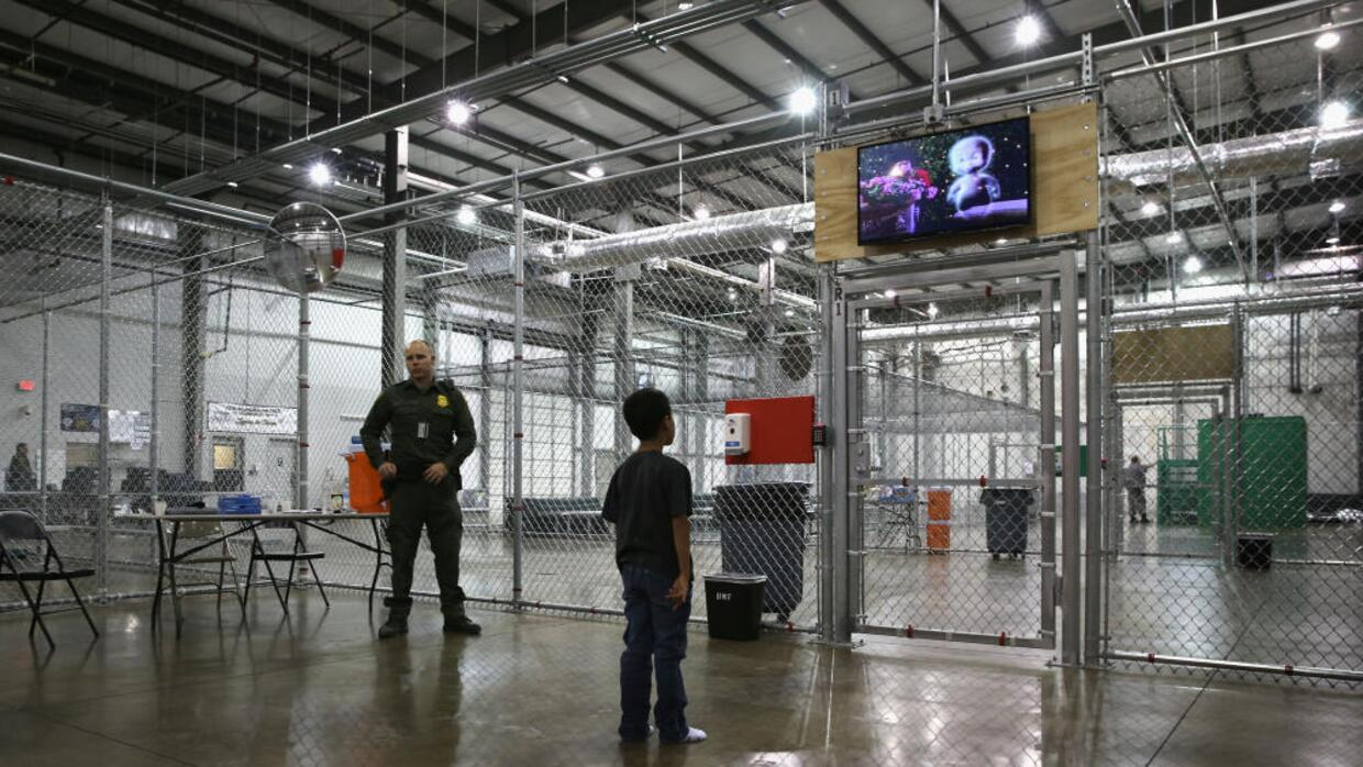 Texas immigration detention center
