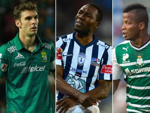 Nadie volteó la Tabla. Efectivamente León, Santos y Pachuc...