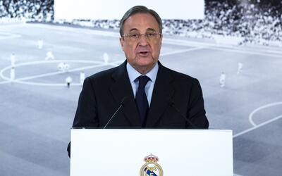 Florentino: Real Madrid tiene una plantilla espectacular
