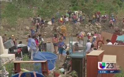 Se une el exilio en apoyo a colombianos expulsados de Venezuela