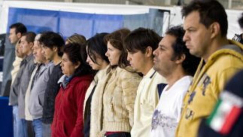 Quince miembros del Cártel de los Beltrán Leyva detenidos en 2008.