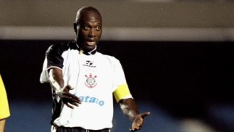 Freddy Rincón en sus tiempos de jugador del Corinthians, el ex astro del...