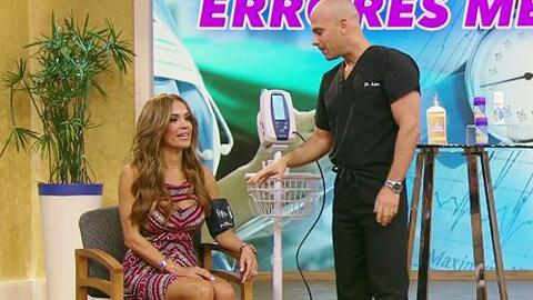 El Dr. Rivera le mostró a Karla cuáles son los errores médicos más comunes
