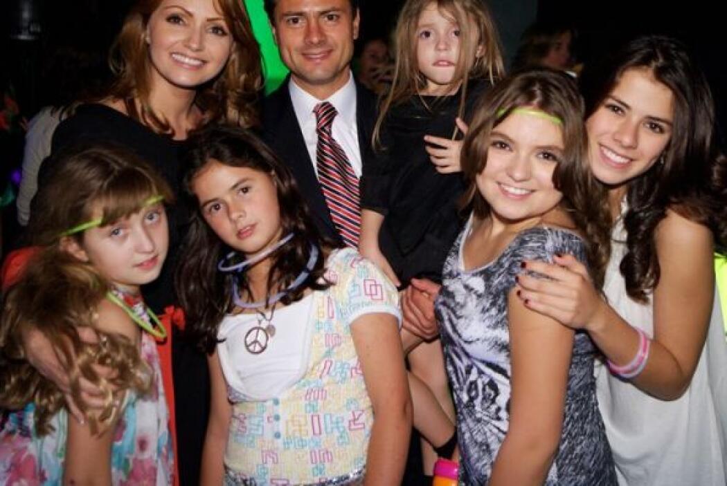 Ahora Angélica es la esposa de Enrique Peña Nieto, el presidente de México.