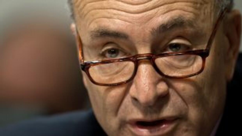 El senador demócrata Charles Schumer (Nueva York).