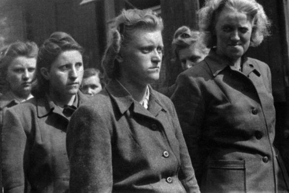 Los supervivientes de los campos de concentración que testimoniaron la a...