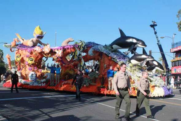 Distinta a las otras 40 carrozas, SeaWorld, debieron cambiarle el nombre...