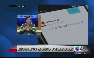 Cómo seguir el Mundial en las redes sociales