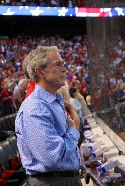 El ex presidente de los Estados Unidos y dueño parcial de los Tex...