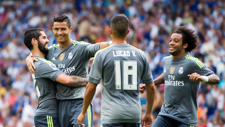 Cristiano Ronaldo ha marcado 230 goles con el Real Madrid en la Liga.
