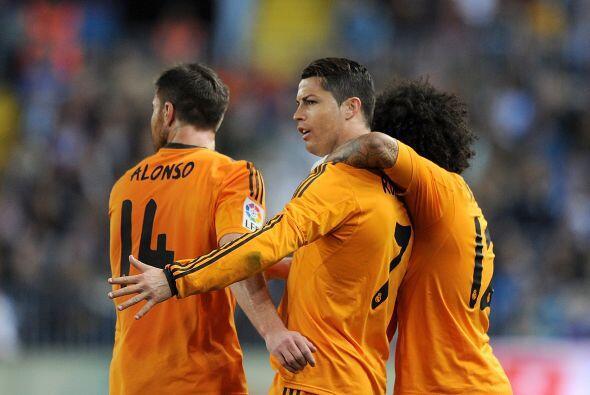 Finalmente, el portugués Cristiano Ronaldo no podía faltar...