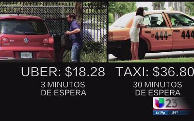 Reportaje Investigativo: Uber vs. Taxis - 2