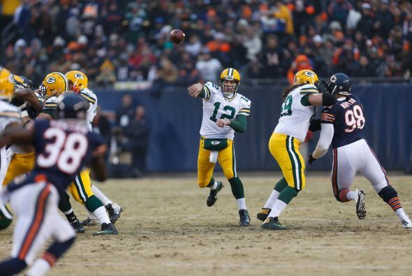 #11 QB Aaron Rodgers, Green Bay Packers (AP-NFL).
