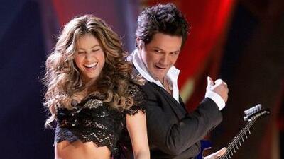 Shakira y Alejandro Sanz conquistaron el escenario de Latin GRAMMY 2006.