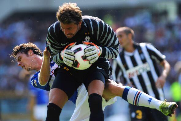 Eléctrico empate a tres de la Juventus con la Sampdoria en Turín en la s...