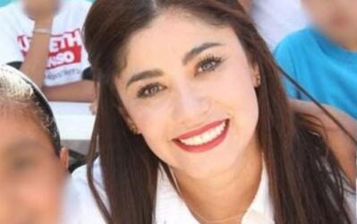 Lizbeth Alonso Carreón, en campaña para una diputaci&oacut...