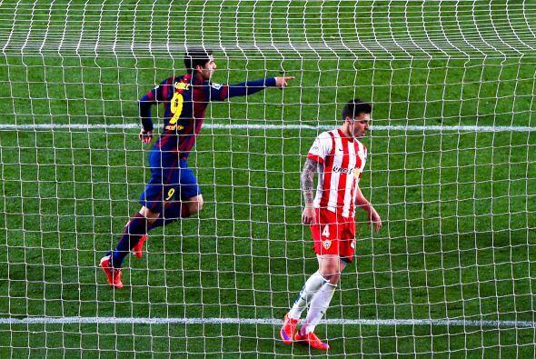 Y justamente Pedrito cedió a la llegada de Suárez al 92' para firmar el...