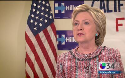 Hillary Clinton detalla su agenda en torno al tema migratorio
