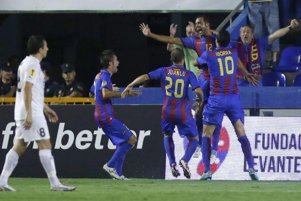 Levante hizo su debut en competencias europeas con la apretada victoria...