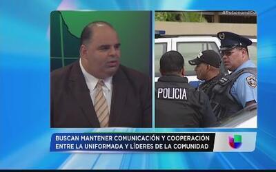 Policía desea integrar la comunidad contra el crimen