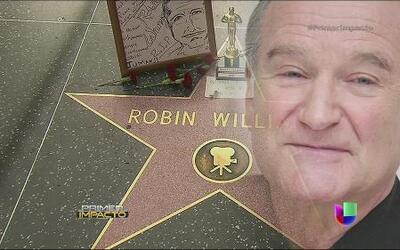 El paseo de la fama de Hollywood inundado de fans de Robin Williams