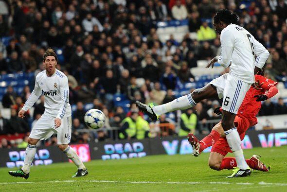 Pero eso no fue todo, pues faltaba un gol blanco.