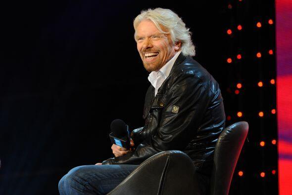 RICHARD BRANSON. El dueño de Virgin Group tiene una fortuna de unos 5,10...