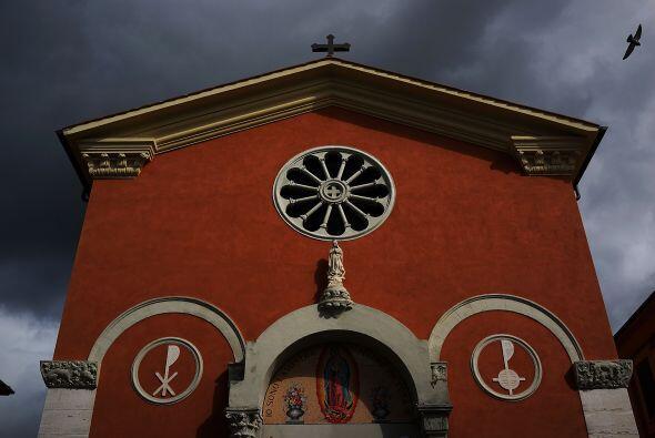 Parroquia de Nuestra Señora de Guadalupe en Roma, Italia.