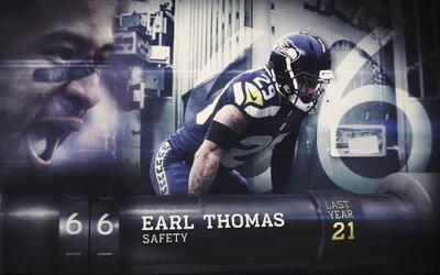 Top 100 Jugadores del 2016: (Lugar 66) FS Earl Thomas