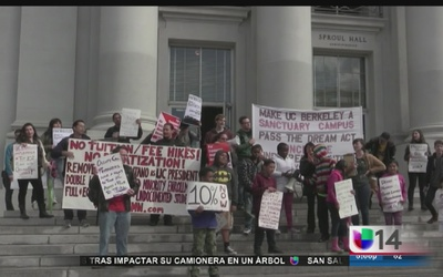 Protestan para tener más diversidad en UC Berkeley