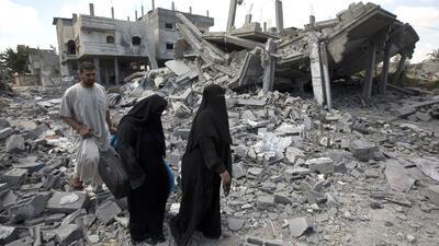Esperanza por una tregua en Franja de Gaza