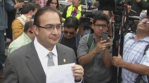 Registran domicilios de allegados a exgobernador de Veracruz por caso de...