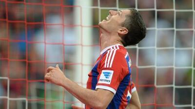 El polaco eligió al portugués en lugar de su compañero de equipo Manuel...