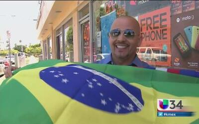 Corazón brasileño palpita en Los Ángeles