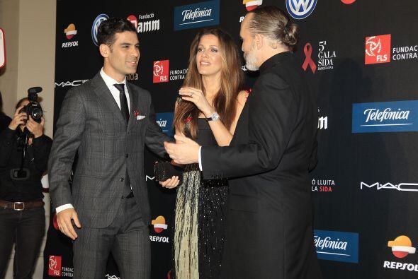 Jaydy Michel y Rafa Márquez acudieron a la Gala Sida, organizada por la...
