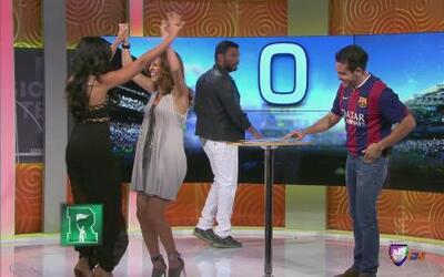 Adriana y Nataliz ganaron en la Guerra de los Sexos