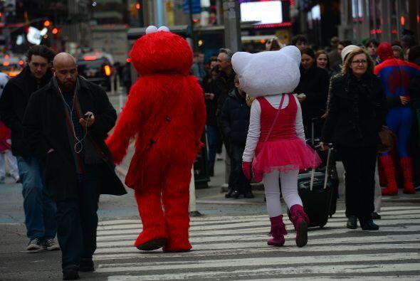 Hasta el momento, cualquier persona puede vestirse del personaje de moda...