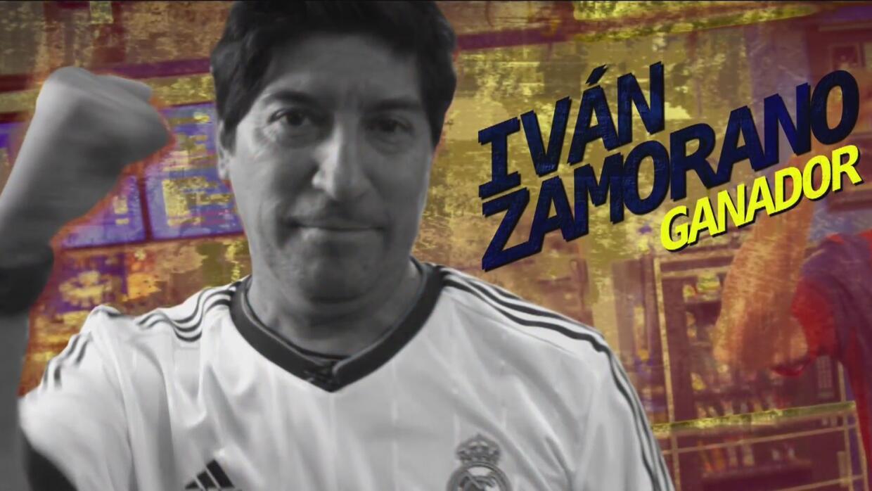 Iván Zamorano retó a Hristo Stoitchkov y salió ganador
