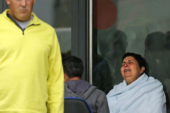 Reconoció sentirse consternada y declaró que ve a los familiares de las...