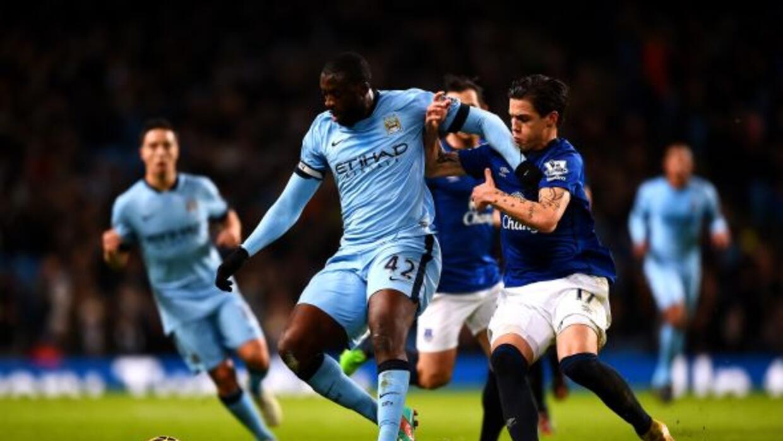 Yaya Touré anotó el único gol del partido en el triunfo citizen.
