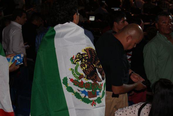 La presencia de México era más que evidente en el Alamodome.