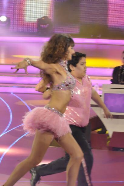 Raquel Ortega es una magnífica bailarina y así lo demostró sobre la pista.