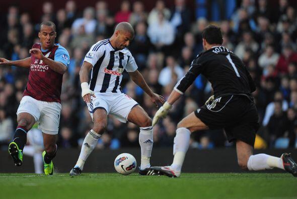 Aston Villa perdió como local 1- 2 ante West Bromwich, resultado...