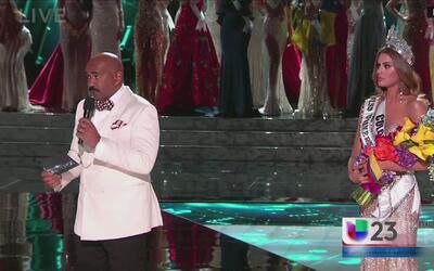 Miss Universe también fue el tema de conversación en Miami
