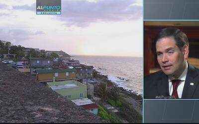 """Marco Rubio: """"Tiene que haber cambios en el gobierno de Puerto Rico"""""""