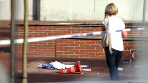 Un hombre con un machete ataca a dos policías en Bélgica